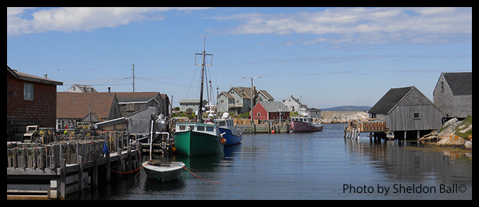 Picture of Peggy's Cove in Nova Scotia Canada - Photo by Sheldon Ball