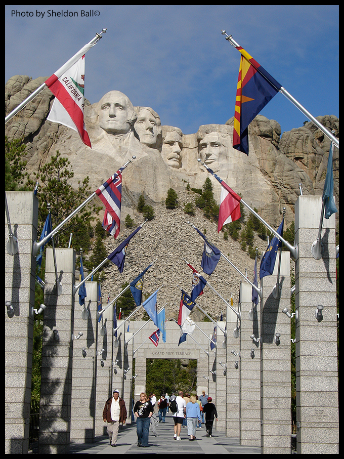 photo of Mount Rushmore in South Dakota USA - Photo by Sheldon Ball